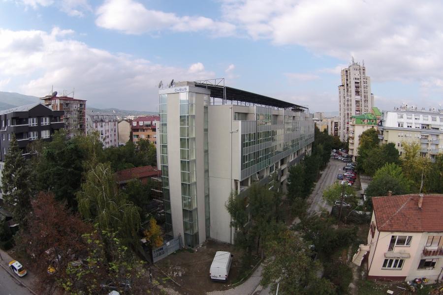 Building on Daskal Kamche str. Skopje